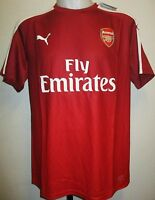 ARSENAL 2015/16 S/S RED STADIUM TEE SHIRT BY PUMA ADULTS SIZE XL BRAND NEW