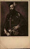 Künstlerkarte Julius Bard ~1910 Museum BERLIN Kunst Maler Sebastiano Del Piombo