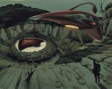 Nozaki Pre-Production Art of Unshot Scene from 1953 film The War Of The Worlds