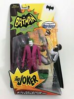 "Batman Classic TV Series The Joker Figure 6"" Mattel 2013  Brand NEW NIP LOOK !!!"