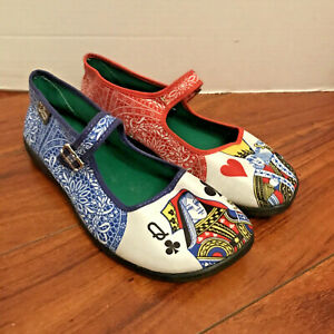 Hot Chocolate Design Chocolaticas King & Queen Shoes 37 Womens US 7 Mary Jane