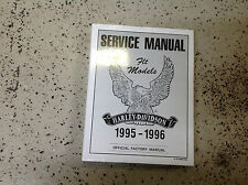 1995 1996 Harley Davidson FLT MODELS Touring Service Repair Shop Manual NEW