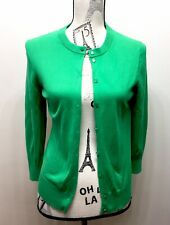 J. Crew Women Button Down Cardigan Sweater Leaf Green Medium