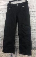 Womens OAKLEY Insulated snow Pants ski snowboard size XS black
