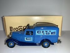 "BROOKLIN MODELS 1:43 BRK 16A 1935 DODGE VAN ""CITY ICE DELIVERY"""