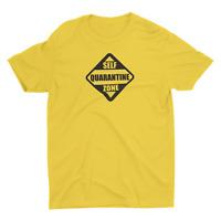 Self quarantine Social Distancing corona tee funny t shirt pandemic funny