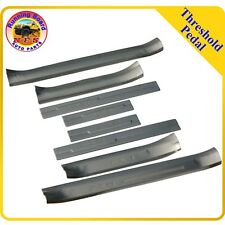 For 13-16 Toyota RAV4 8 PCS Door Sill Step Scuff Plate Stainless Steel Cover