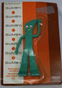 "Sealed NRFB Vintage GUMBY Super-Flex Bendy Toy 6"" Bendable Figure Jesco Prema"