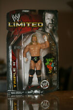 "(2007) WWE LIMITED Action Figure TRIPLE H w/ ""Vince Likes Cock"" T-Shirt. Rare!"