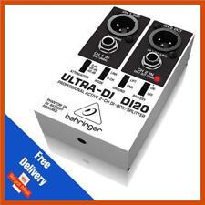 Behringer DI20 Ultra-DI 2 canaux DI Box
