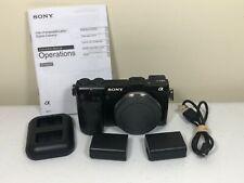 Sony Alpha NEX-7 24.3MP Body Only Digital Camera - Black