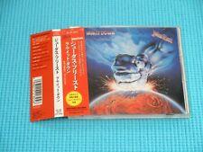 JUDAS PRIEST Ram It Down 1989 OOP CD Japan 25.8P-5024 OBI