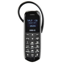 3 in 1 J8 Black Long Cz Mini Gsm Phone Mobile Hands Free Bluetooth Head CP new