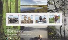 Canada 2012 - #2504 Baby Wildlife Definitives - Souvenir Sheet MNH