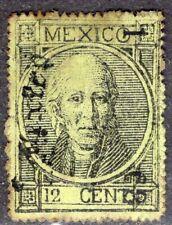 MEXICO 1868 STAMP Sc. # 53 ORIGINAL GUM OG
