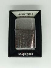 Zippo162 armour Brushed Chrome Windproof