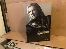 Hot Toys Thor Avengers MMS 175 Complete W/shipper Iron Man Black Widow