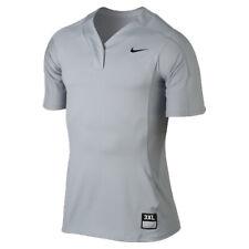 Nike Women's Baseball Softball Vapor Pro Dri-Fit Performance Gray Grey Jersey