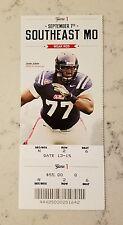 Ole Miss Rebels SE Missouri State Football Full Ticket 9/7 2013 Stub John Jerry