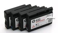 HP 932 933 / 4PK Genuine Setup Ink Cartridge Set/ HP 6100 6600 6700 7110 7610