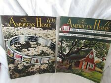 Two American Home Magazines 1940 house floor plans blue prints home decor ideas