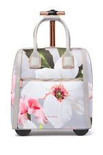 49090c555 New TED BAKER LONDON Chatsworth Rolling Two Wheel Travel Carry On Suitcase  Bag