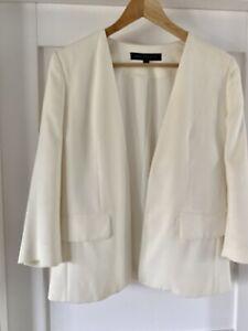 French Connection 'tuxedo Style' Cream Jacket 12