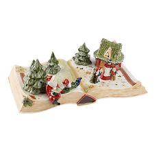 VILLEROY & BOCH Märchenbuch Schneewittchen Weihnachtsdekoration Winterdeko