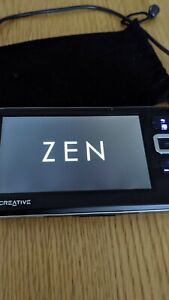 Creative Zen Vision W working MP4 MP3 player - read description carefully.