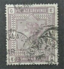 nystamps Great Britain Stamp #  00004000 96 Used $165