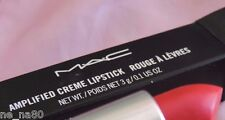 Mac Amplified Creme Lipstick in CRAVING NIB LOOK STOCK PHOTO READ