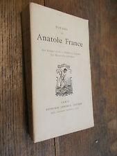 Poésies de Anatole France les poèmes dorés Idylles et légendes Les noces Corinth