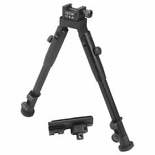 "CCOP USA 10"" Tactical Adjustable Bipod Picatinny Rail Mount Swivel Stud BP-59M"
