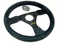 Sparco Steering Wheel - R333 (330mm/39mm Dish/Suede)
