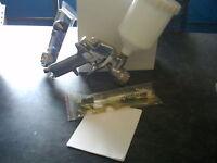 METAL FLAKE SPRAY GUN 2.5MM NEW