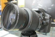 Wide Angle Macro Lens for Nikon d3000 d5100 d3100 d3200 d5000 d60 d40x w/18-55 R