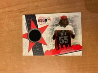 2019 Topps Update - Josh Bell - All Star Stitches Warm Up Jersey Relic