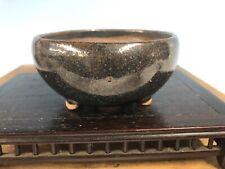 "Mame Or Shohin Size Bonsai Tree Pot By Imaoka Machinao 3 1/4"""
