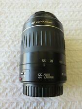 Mint Canon EF 55-200mm f4.5-5.6 II USM Zoom Lens PERFECT