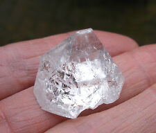 APOPHYLLITE TOP / PYRAMID INDIA AA GRADE NATURAL UNPOLISHED 22mm BAG * ID CARD