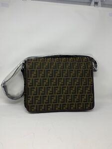 Brand New Fendi Messenger Bag Monogram Comoutet Bag 2012 Season