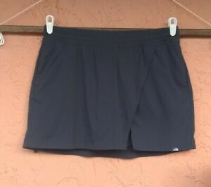 The North Face Women's Skort Skirt Size L NAVY Pull On Pockets Active Casual