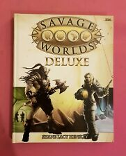 SAVAGE WORLDS DELUXE CORE BOOK HARDBACK RPG - ROLEPLAYING ROLEPLAY RARE FANTASY