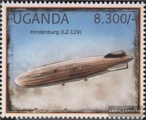 uganda 2920 MNH 2012 Airships