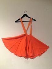 Jazz / Tap Dance Costume - Fluro Orange Rock n Roll Skirt
