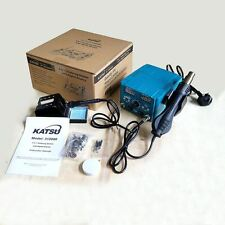 KATSU 852D 2 in 1 Soldering Iron Station Hot Air Gun Rework Station 312080