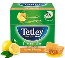 Tetley GREEN Tea Lemon & Honey Natural Flavours - 25 Tea Bags