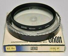 HOYA  62mm  CLOSE UP  +1 FILTER