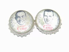 lot of 2 1964-65 Coke hockey caps MacDonald/Tremblay