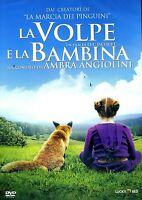 LA VOLPE E LA BAMBINA (2007) un film di Luc Jacquet - DVD EX NOLEGGIO LUCKY RED